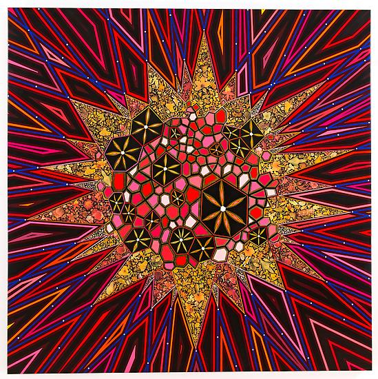 "Fred Tomaselli ""Current Events"" @ James Cohan Gallery: Juxtapoz-Tomaselli003.jpg"