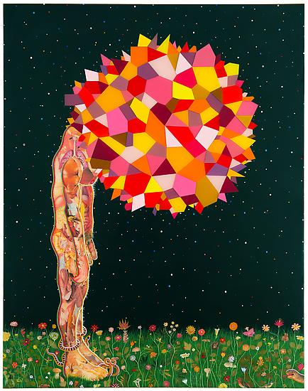 "Fred Tomaselli ""Current Events"" @ James Cohan Gallery: Juxtapoz-Tomaselli005.jpg"