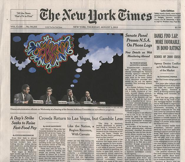 "Fred Tomaselli ""Current Events"" @ James Cohan Gallery: Juxtapoz-Tomaselli009.jpg"