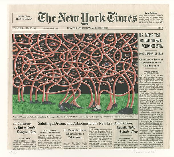 "Fred Tomaselli ""Current Events"" @ James Cohan Gallery: Ju"