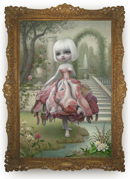 Mark Ryden, The Gay 90's: West @ Kohn Gallery: Juxtapoz-MarkRyden010.jpg