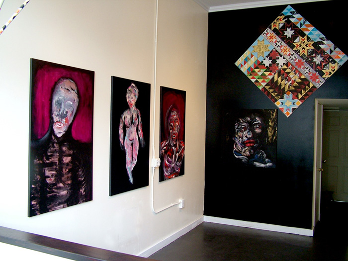 New work by Bill Dunlap & Jake Watling @ Nowheresville Gallery, SF: with_skulls_1.jpg