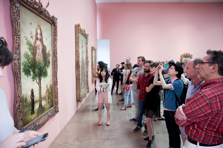 "Opening: Mark Ryden ""The Gay 90s: West"" @ Kohn Gallery, LA: r-50.jpg"