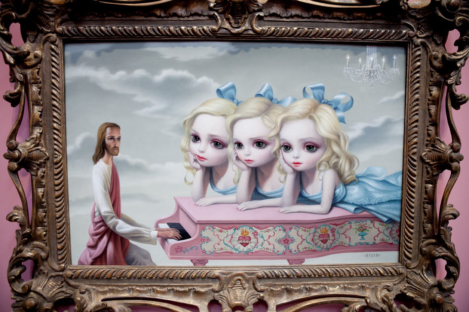 "Opening: Mark Ryden ""The Gay 90s: West"" @ Kohn Gallery, LA: r-52.jpg"
