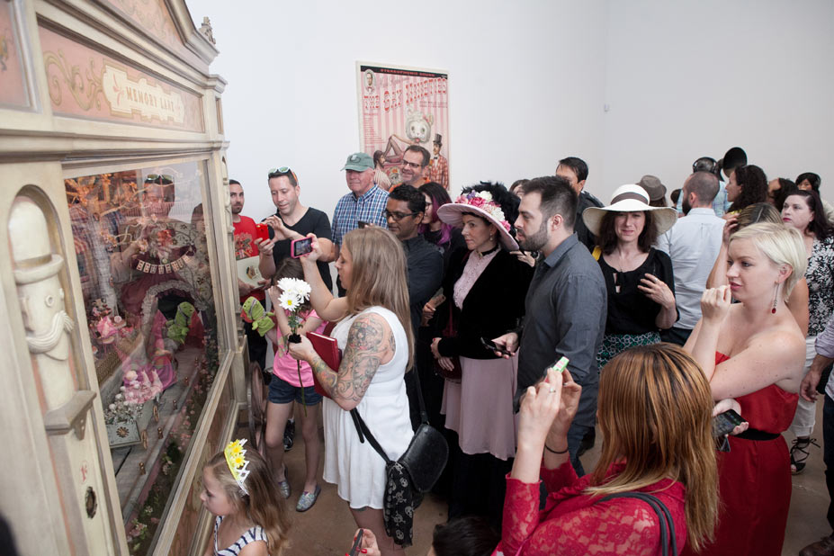 "Opening: Mark Ryden ""The Gay 90s: West"" @ Kohn Gallery, LA: r-57.jpg"