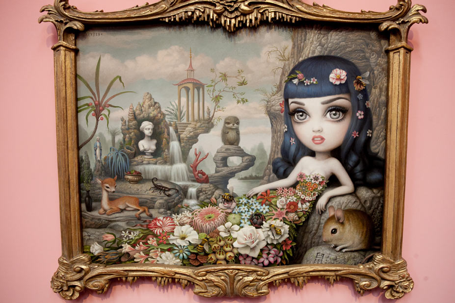 "Opening: Mark Ryden ""The Gay 90s: West"" @ Kohn Gallery, LA: r-60.jpg"