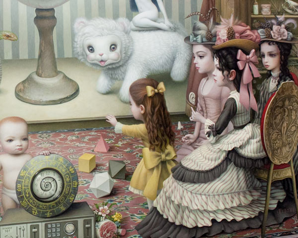 "Opening: Mark Ryden ""The Gay 90s: West"" @ Kohn Gallery, LA: r-61.jpg"