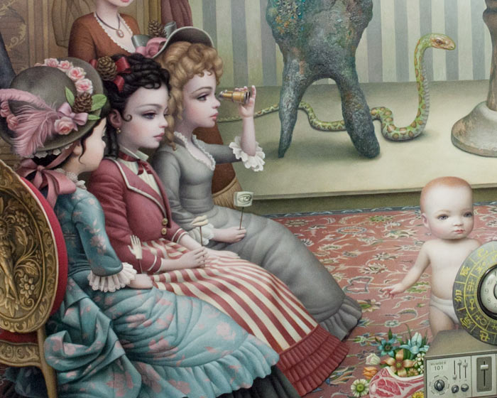 "Opening: Mark Ryden ""The Gay 90s: West"" @ Kohn Gallery, LA: r-62.jpg"
