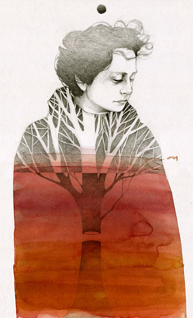 Pencil and Watercolor Works from Elia Fernández: inside389x640.jpg