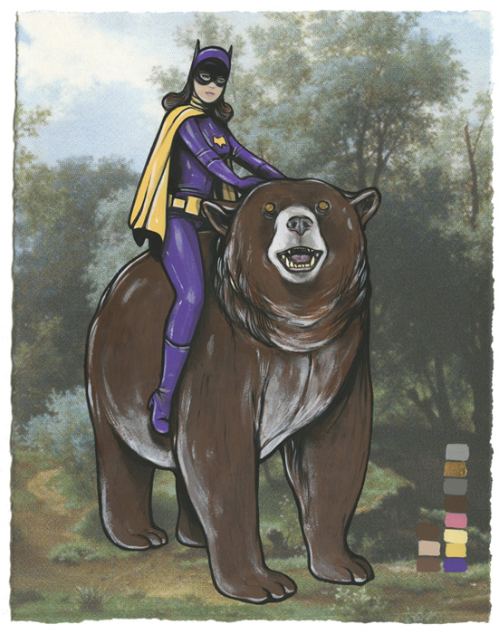 Steve Seeley: The Delicate Matter: batgirl_bear.jpg