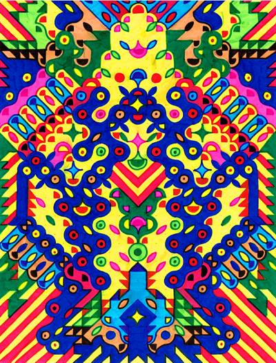 The Psychedelic Designs of Arnaud Loumeau: 1606919_10202518857886543_1196939607_n.jpg