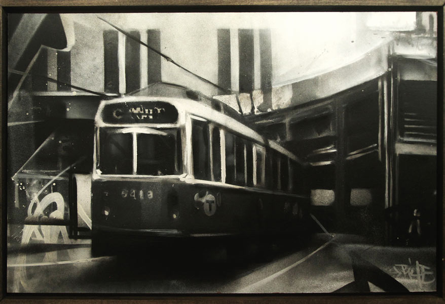 "Percy Fortini-Wright ""Boston and Beyond"" @ Lot F Gallery: OldOrangeLineStudy2.jpg"