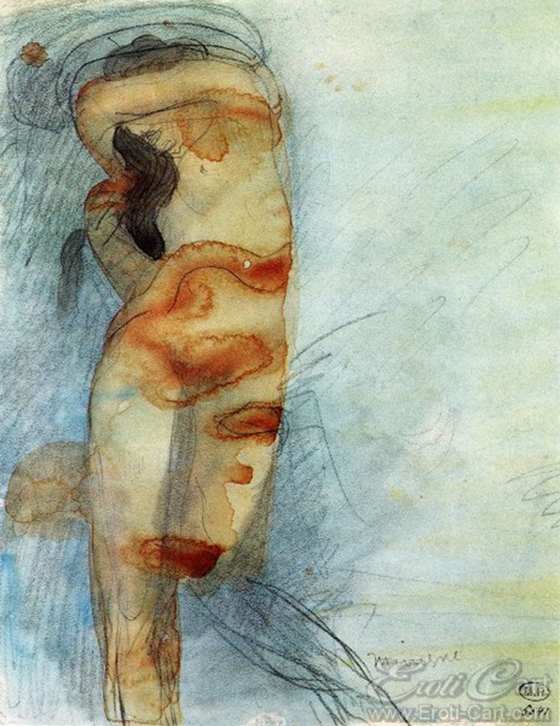 Erotic Drawings by Auguste Rodin: klimt32.jpg