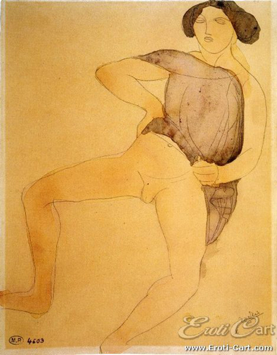 Erotic Drawings by Auguste Rodin: rodin12.jpg