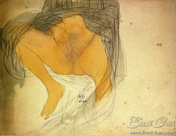 Erotic Drawings by Auguste Rodin: rodin8.jpg
