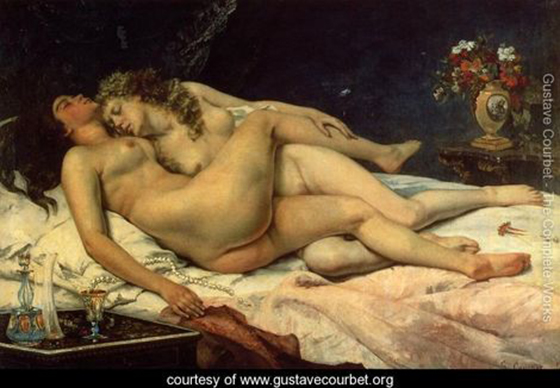 Gustave Courbet's Classical Erotica: Le-Sommeil,-1866.jpg