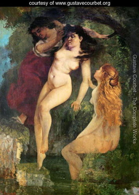 Gustave Courbet's Classical Erotica: Three-Bathers.jpg