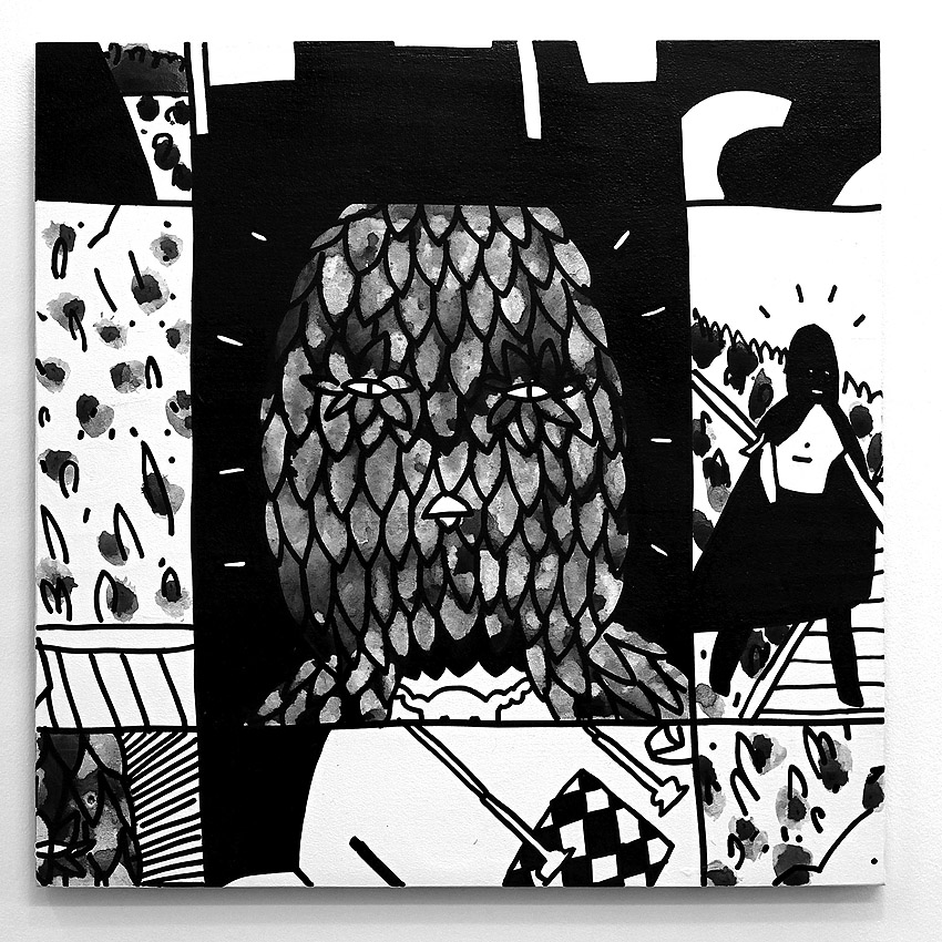 "Kid Acne ""The Return"" @ Galo Art Gallery: JuxtapozKidAcne09.jpg"