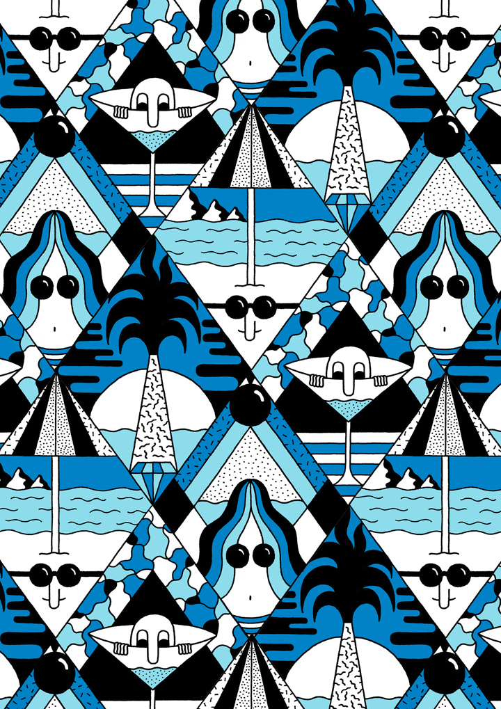Illustrated Patterns from GBH: beach_life.jpg