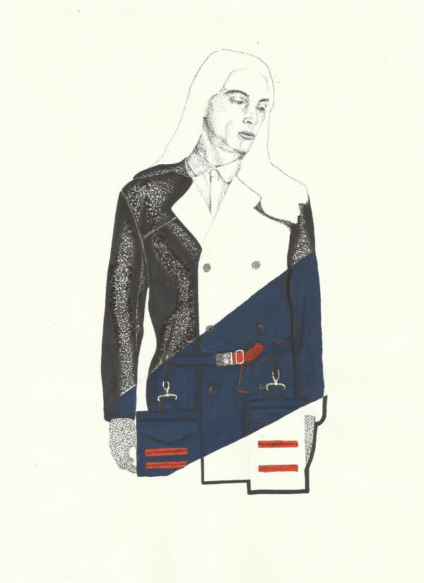 Fashion Illustrations from David Murray: