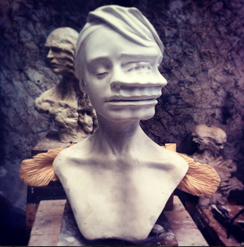 Sculptures by Enrico Ferrarini: tumblr_n33tm3BPIy1rvff1mo1_500.png