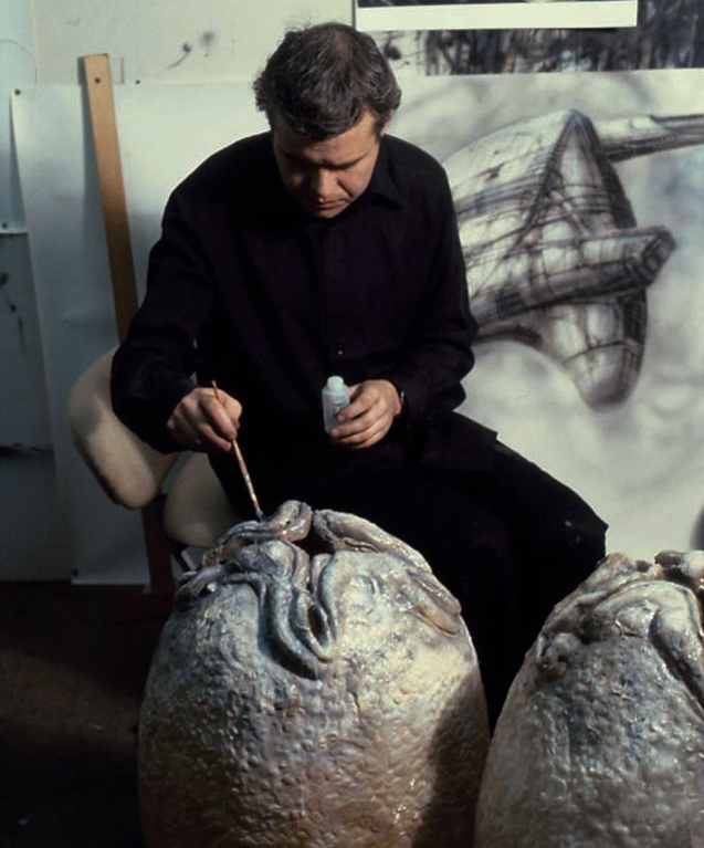 RIP The Great H.R. Giger (1940-2014): Juxtapoz-HRIPGIGER001.png