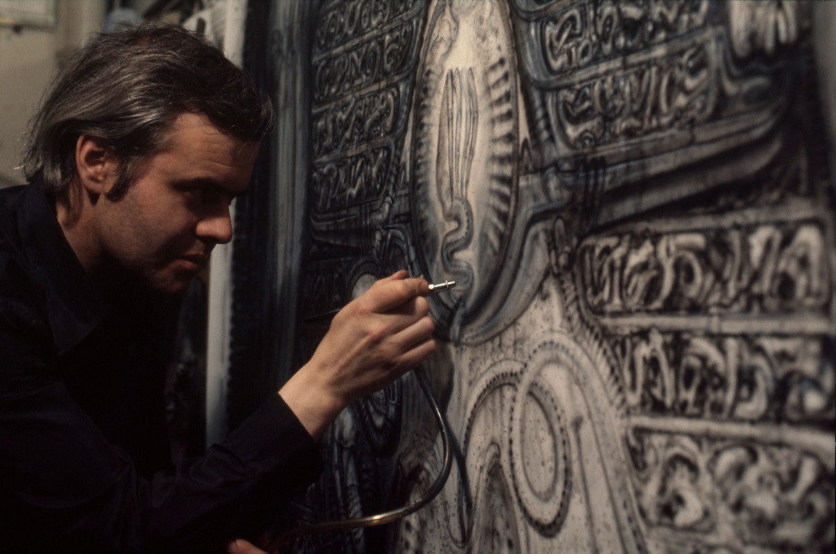 RIP The Great H.R. Giger (1940-2014): Juxtapoz-HRIPGIGER003.jpg