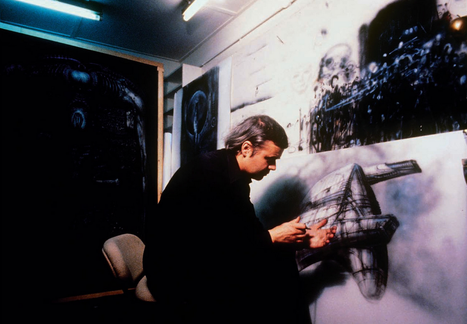 RIP The Great H.R. Giger (1940-2014): Juxtapoz-HRIPGIGER008.png
