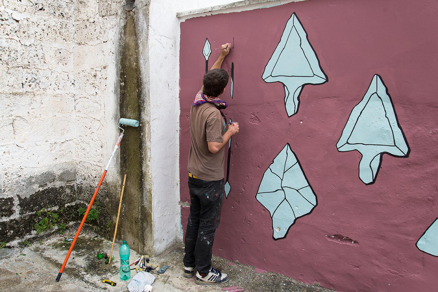 New Murals by Pastel for the Viavai Project in Italy: _BND5077.jpg