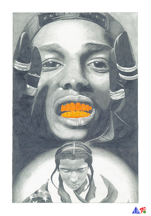 Prismacolor Portraits from Darren and Donovan Downing: asap-portrait.png