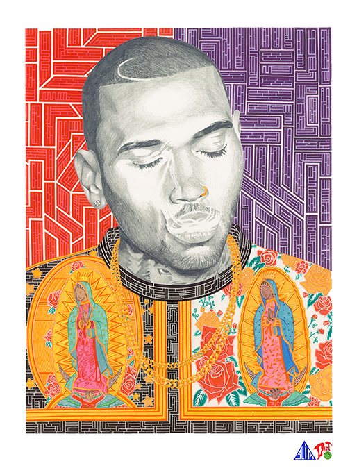 Prismacolor Portraits from Darren and Donovan Downing: chris-brown-portrait.png