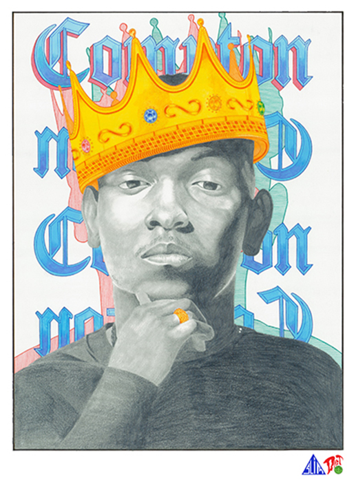 Prismacolor Portraits from Darren and Donovan Downing: kendrick-lamar-portrait.png