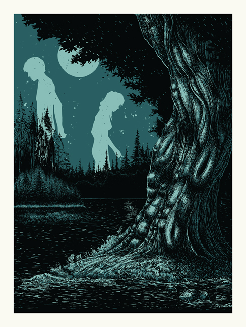 Works from Poster Illustrator John Vogl: GIANTS_IN_MOONLIGHT.jpg