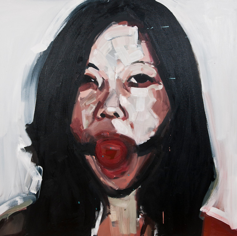 Yolanda Dorda's Provocative Oils: s-t-oil-on-canvas-100x100cm-ref-co22-2500-euros.jpg
