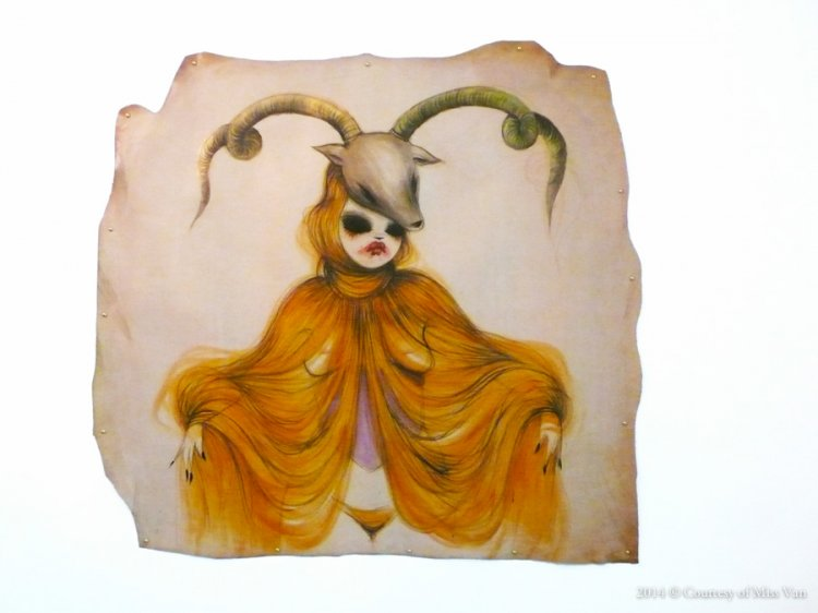 Miss Van's Masked Women: missvan-courtesy-atame_painting.jpg