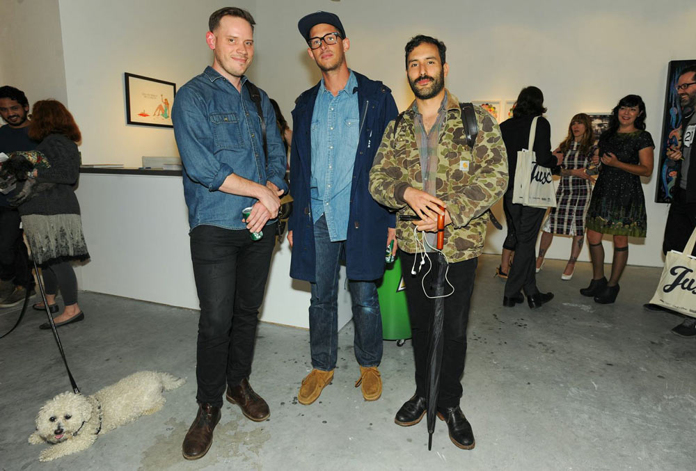 "Opening: ""Art Truancy: Celebrating 20 Years of Juxtapoz Magazine"" @ Jonathan LeVine Gallery—The People: Juxtapoz-Art-Truancy-Opening0058.jpg"