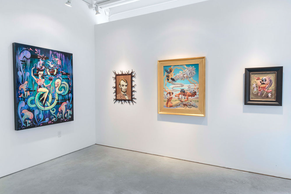 """Art Truancy: Celebrating 20 Years of Juxtapoz Magazine"" @ Jonathan LeVine Gallery—The Art: Juxtapoz_20th_Gallery_HiRes_09.jpg"