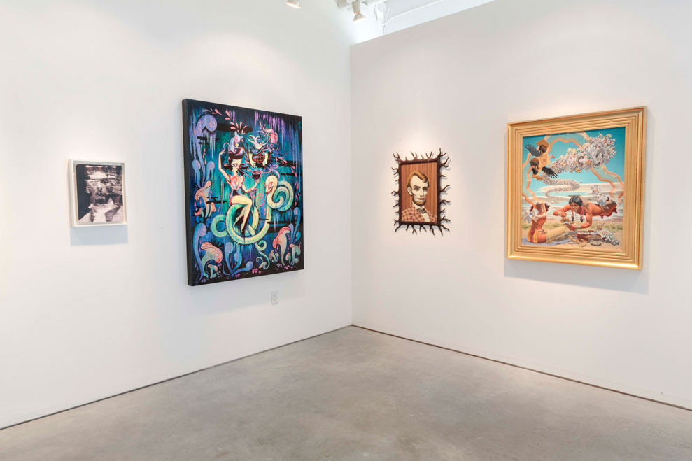"""Art Truancy: Celebrating 20 Years of Juxtapoz Magazine"" @ Jonathan LeVine Gallery—The Art: Juxtapoz_20th_Gallery_HiRes_10.jpg"