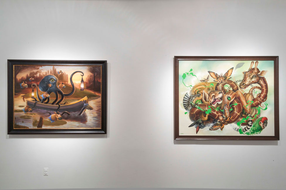 """Art Truancy: Celebrating 20 Years of Juxtapoz Magazine"" @ Jonathan LeVine Gallery—The Art: Juxtapoz_20th_Gallery_HiRes_24.jpg"