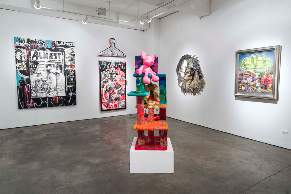"""Art Truancy: Celebrating 20 Years of Juxtapoz Magazine"" @ Jonathan LeVine Gallery—The Art: Juxtapoz_20th_Gallery_HiRes_28.jpg"