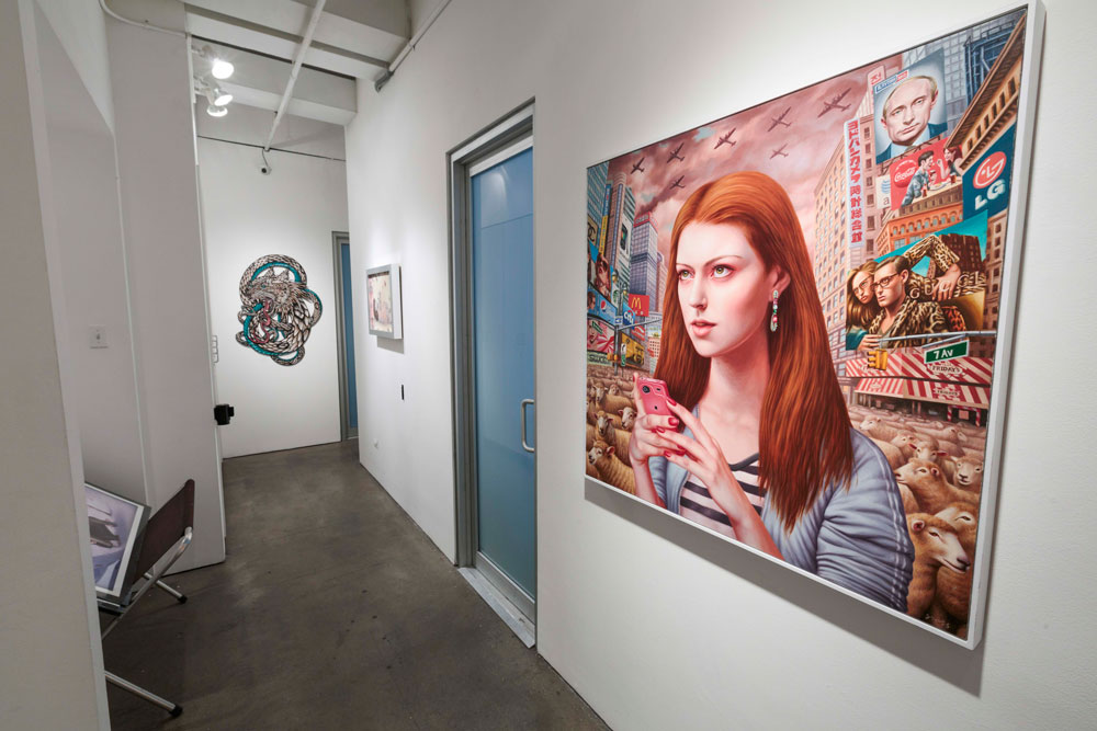"""Art Truancy: Celebrating 20 Years of Juxtapoz Magazine"" @ Jonathan LeVine Gallery—The Art: Juxtapoz_20th_Gallery_HiRes_44.jpg"
