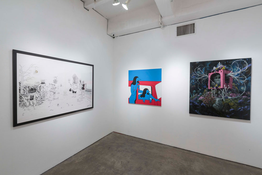 """Art Truancy: Celebrating 20 Years of Juxtapoz Magazine"" @ Jonathan LeVine Gallery—The Art: Juxtapoz_20th_Gallery_HiRes_45.jpg"