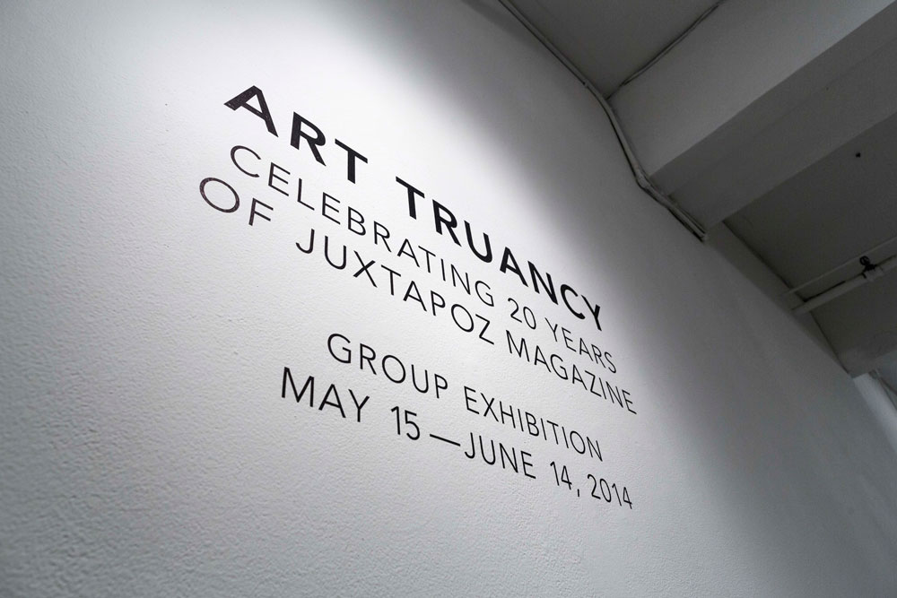 """Art Truancy: Celebrating 20 Years of Juxtapoz Magazine"" @ Jonathan LeVine Gallery—The Art: Juxtapoz_20th_Gallery_HiRes_54.jpg"