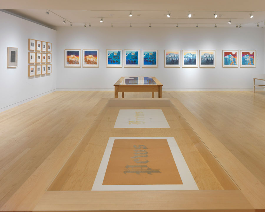 "Ed Ruscha ""Prints and Photographs"" @ Gagosian Gallery, Madison Avenue, NYC: 1a0fc49b60c360df123d2c4138aedebf.jpg"