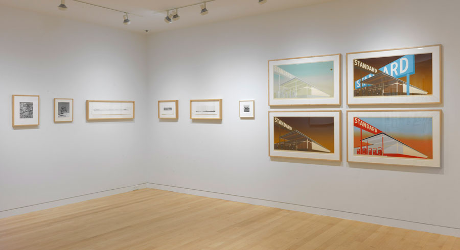 "Ed Ruscha ""Prints and Photographs"" @ Gagosian Gallery, Madison Avenue, NYC: 1a650933fe5fdb58c7f129570d65eab9.jpg"
