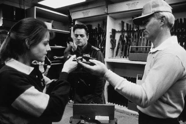 Behind the Scenes Photos From Silence of the Lambs: behind01.jpg