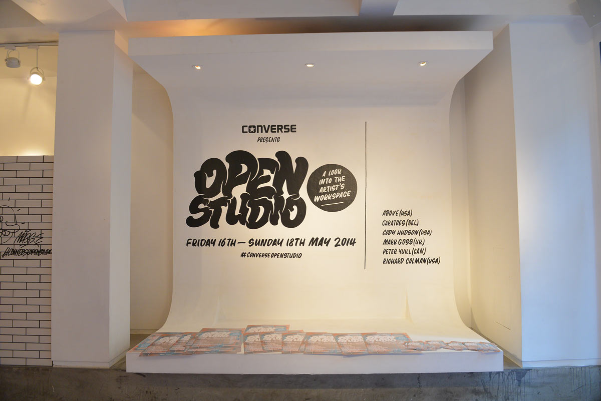 "Converse ""Open Studio"" Exhibition @ The Space, Hong Kong: JX-Converse-Open-Studio001.JPG"