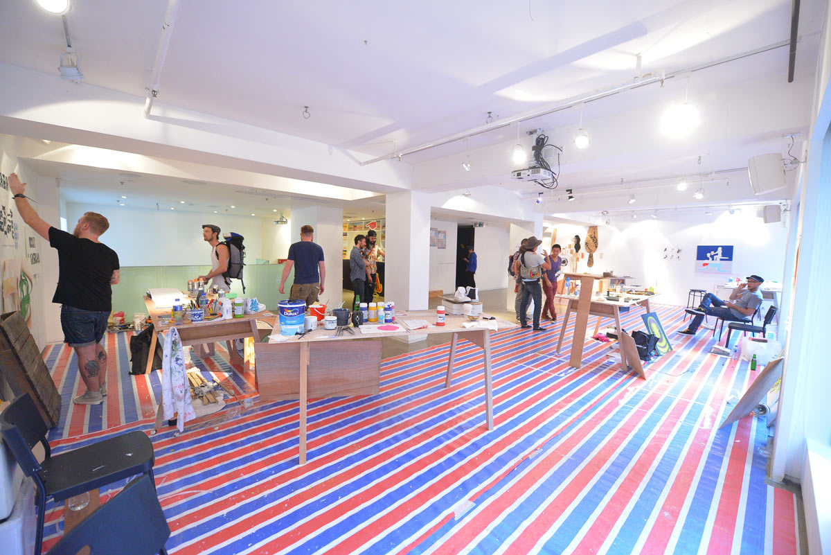 "Converse ""Open Studio"" Exhibition @ The Space, Hong Kong: JX-Converse-Open-Studio027.JPG"