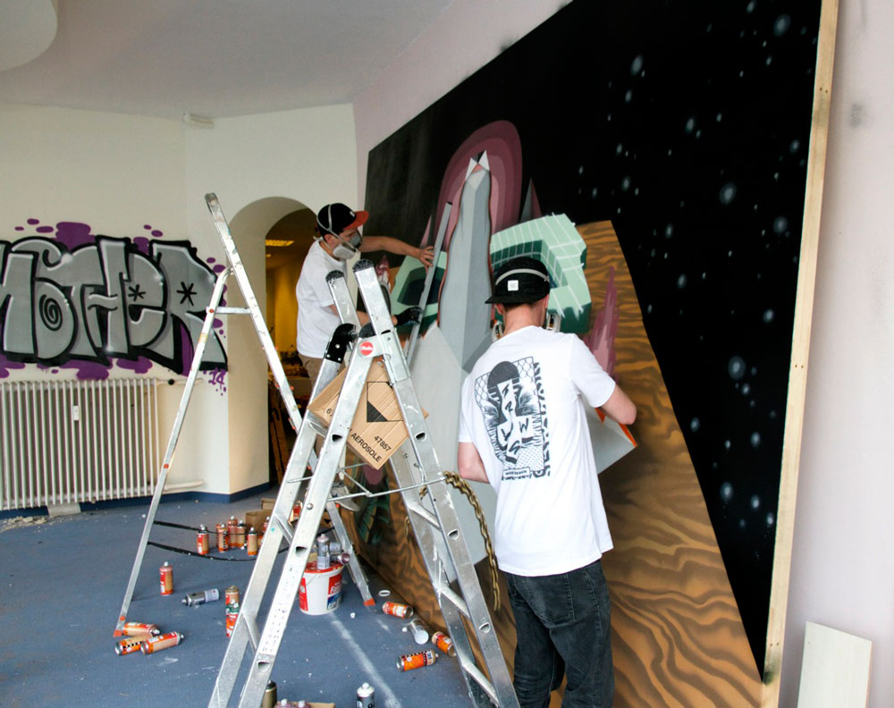 In Photos: Urban Nation's Project M/ Curated by Thinkspace: Juxtapoz-HenrikHaven003.jpg
