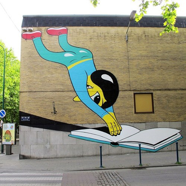 HuskMitNavn's animated characters bring life to the streets of Charleroi, Belgium: jux-husk5.jpg